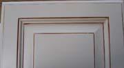 框組みエナメルアンティーク塗装