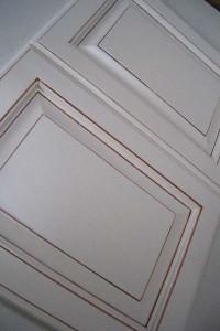 エナメル框組みアンティーク塗装