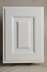 エナメル塗装の框組みキッチン扉