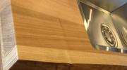 天然木のキッチン用ワークトップ