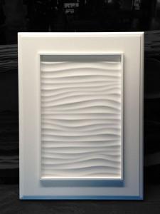風紋加工の框タイプ