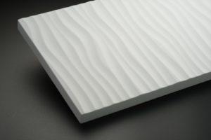 5724ホワイトエナメルの風紋加工(CG) 使用例